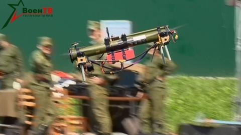 Tên lửa chống tăng Belarus bay như UAV săn mục tiêu