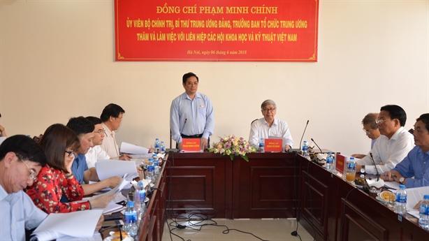 Ông Phạm Minh Chính: Nâng cao vị thế Liên Hiệp Hội VN