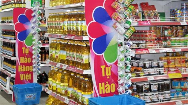 Hàng Việt chiếm ít nhất 30% trong siêu thị: Giấc mơ xa