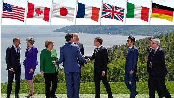 Thượng đỉnh G7: Hai bức ảnh tố cáo những bất đồng Mỹ-G6