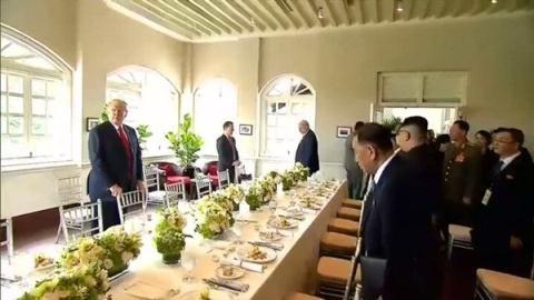 Thượng đỉnh Mỹ-Triều: Thực đơn ông Trump-Kim cùng ăn trưa