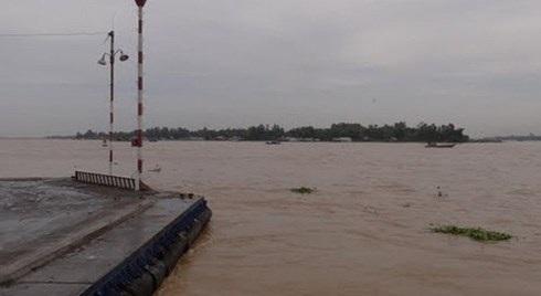 Thông tin chính thức vụ Đại úy mất tích trên sông Hậu