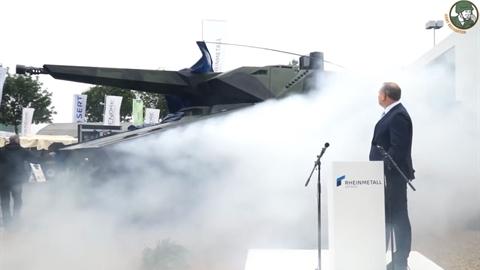 Đức khoe xe chiến đấu có thể biến hình theo nhiệm vụ