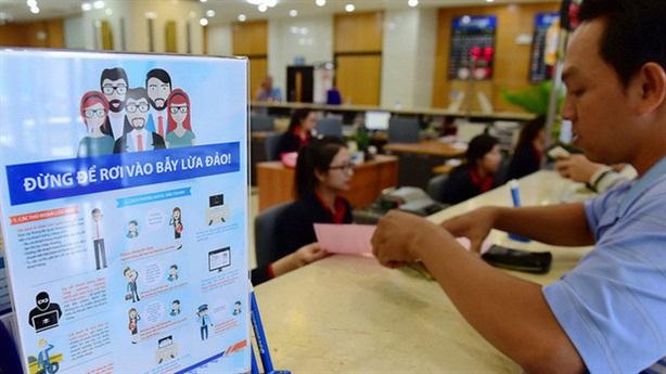 Phải dùng số điện thoại chính chủ khi đăng ký internet banking
