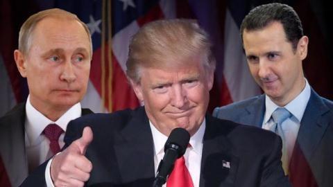 Damascus xé lệnh ngừng bắn, Mỹ đánh Nam Syria, Nga làm gì?