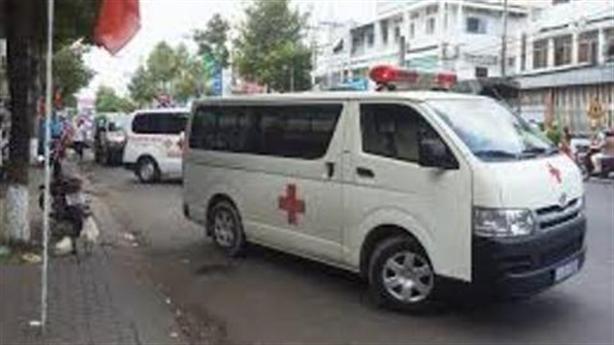 Thua độ bóng đá, vào bệnh viện TP.HCM trộm xe cứu thương