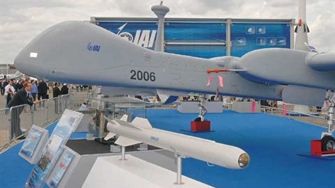 Israel sẽ bán cho Việt Nam tên lửa Nimrod kèm UAV Eitan?