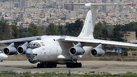 Israel hủy diệt máy bay Il-76 Iran chở tên lửa sang Syria