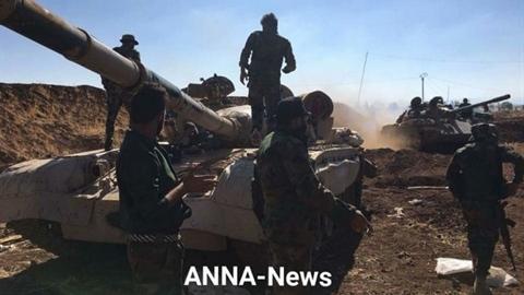 Chiến lợi phẩm sau màn Không quân Nga dội lửa vào Daraa