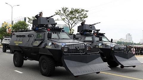Phát bắn hủy diệt trên xe Shinjeong S5 Việt Nam