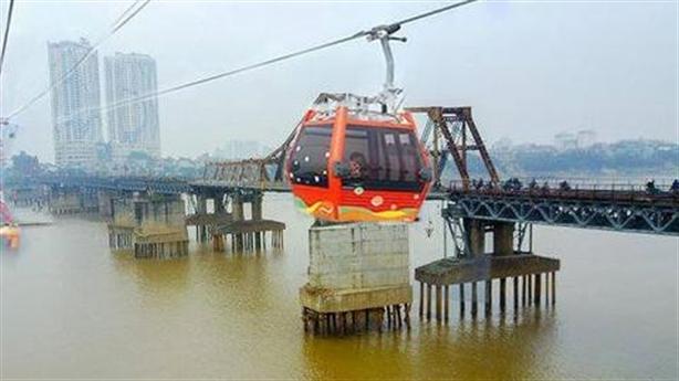 Sở GTVT lên tiếng về dự án cáp treo vượt sông Hồng