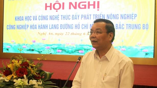 Phát triển nông nghiệp-công nghiệp hóa hành lang đường Hồ Chí Minh