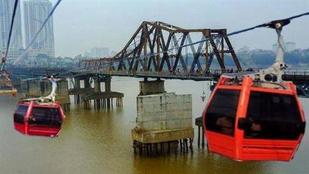 Cáp treo vượt sông Hồng: Cân lên đặt xuống vẫn lăn tăn…