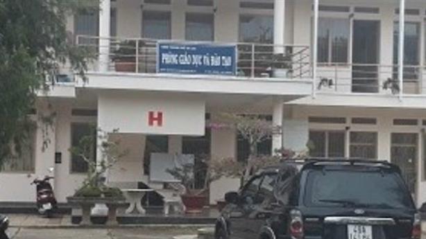 Phòng GD Đà Lạt mất 100 triệu trong két: 'Bình thường thôi'