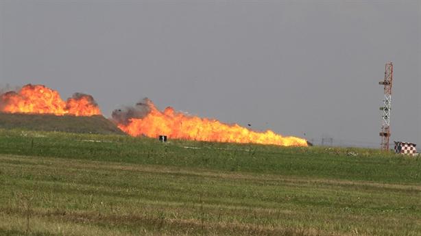 Tiêm kích NATO đâm đầu xuống đất