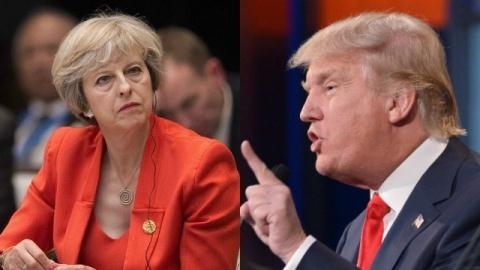 Nhờ ông Trump giúp vụ Skripal, bà May đã ngán ông Putin?