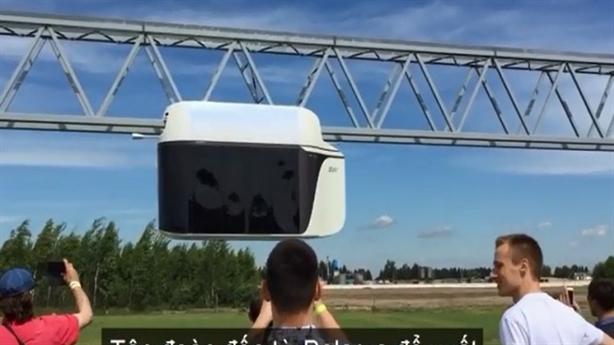 Đề xuất tàu cao tốc trên không TP.HCM: Kém cả cáp treo