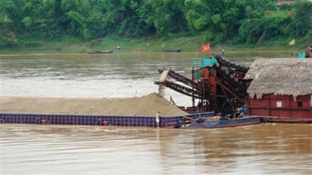 Sẽ đấu giá quyền khai thác cát sỏi lòng sông
