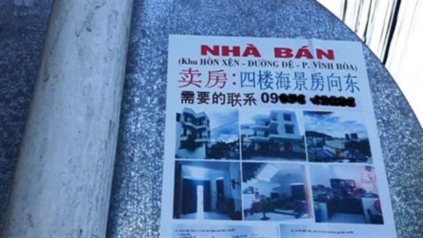 Người Trung Quốc gom đất ở Nha Trang: