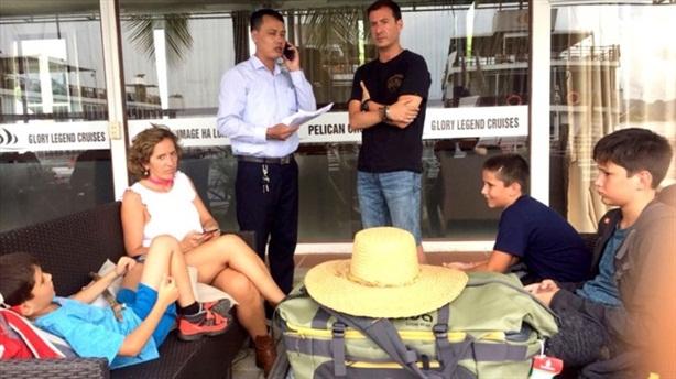 Giải cứu gia đình Tây Ban Nha ở Hạ Long:Hành động đẹp