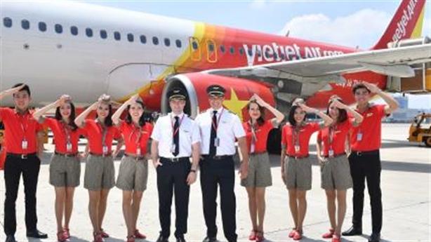 6 tháng đầu năm,Vietjet tiếp tục tăng trưởng mạnh