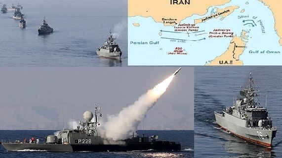 Mỹ-Israel lo lắng nhìn 100 chiến hạm Iran chặn đứng eo Hormuz