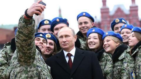 Mục đích ông Putin khôi phục cấp Chính ủy trong quân đội