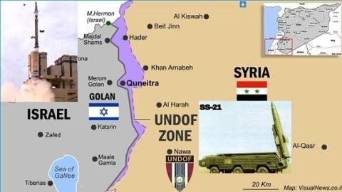 Israel lo Iran-Hezbollah khoác áo SAA xâm nhập cao nguyên Golan