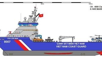 Lộ diện lớp tàu 4.000 tấn thứ hai của CSB Việt Nam?