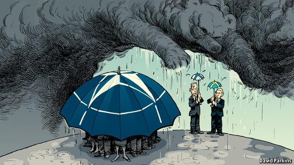 Lần đầu tiên trong lịch sử: NATO bị 'hủy hôn'