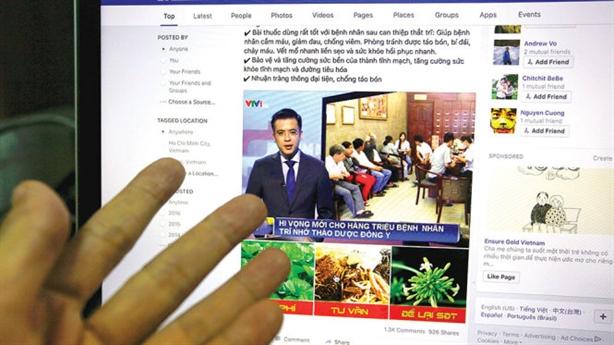 Lách luật quảng cáo TPCN ở Facebook: Khuyên mua giấy tờ 'giả'
