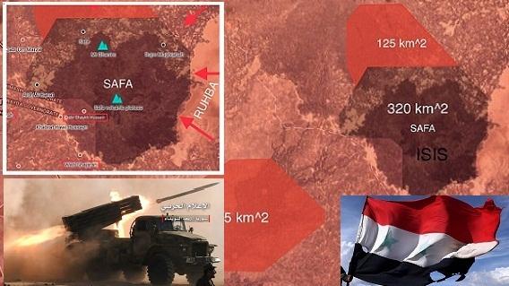 Syria mở 'nồi hầm IS' cuối cùng ở al-Safa/As-Suwayda