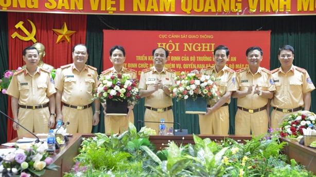 Lãnh đạo mới của Cục Cảnh sát giao thông