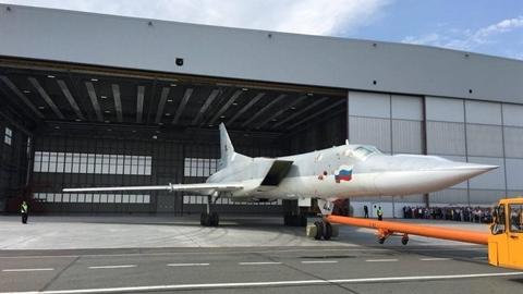 Thiết bị 'lạ' trên máy bay ném bom Tu-22M3M mới xuất xưởng
