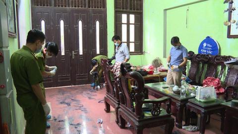 Đôi vợ chồng bị truy sát: Hung thủ bỏ lại giày Adidas