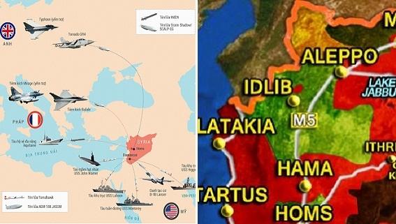 Mỹ-Anh-Pháp ủ mưu hóa học, âm mưu chặn đòn đánh vào Idlib?