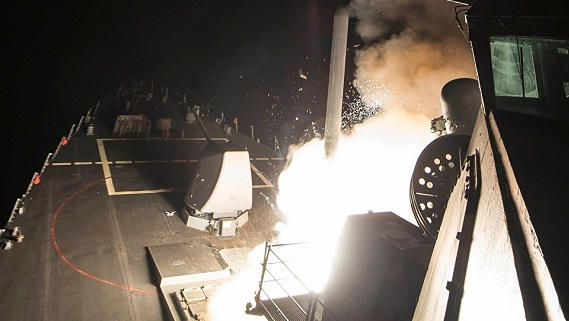 Tomahawk tăng thêm ở Địa Trung Hải, Tor-M2 đón sẵn tại Hmeymim