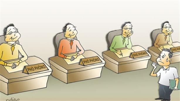 Cấp phó nhiều chứng tỏ cấp trưởng yếu: Sự thật là...