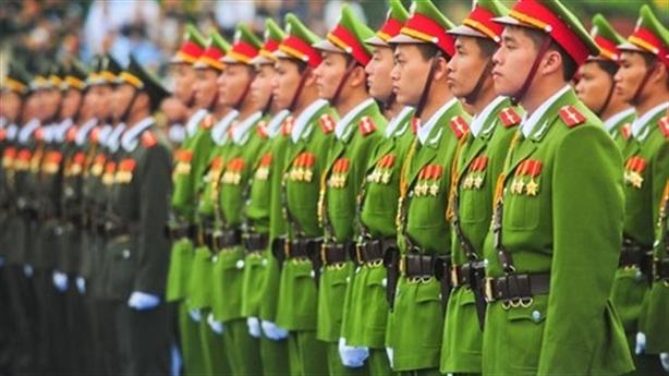 Báo cáo Bộ Chính trị về hàm tướng GĐ Công an tỉnh