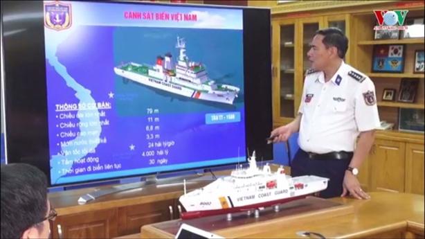Lộ diện tàu tuần tra cỡ lớn Nhật đóng cho Việt Nam