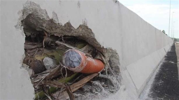 'Bê tông cốt chuối' trên cao tốc Đà Nẵng-Quảng Ngãi: 'Không sao'