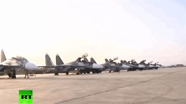 Mỹ lo cả chục chiếc Su-30SM ở lại Syria sau tập trận