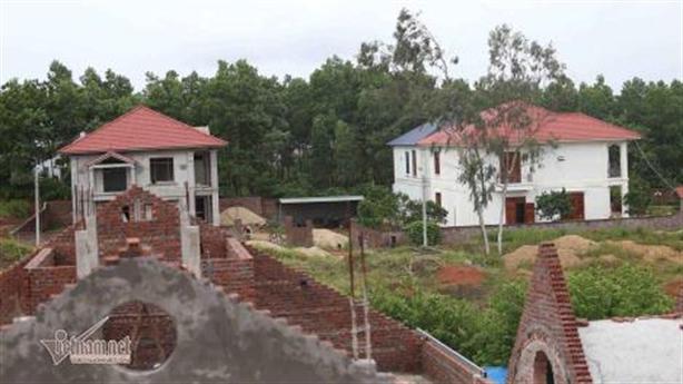 Biệt thự mọc trên đất rừng: Vĩnh Phúc quyết định thu hồi