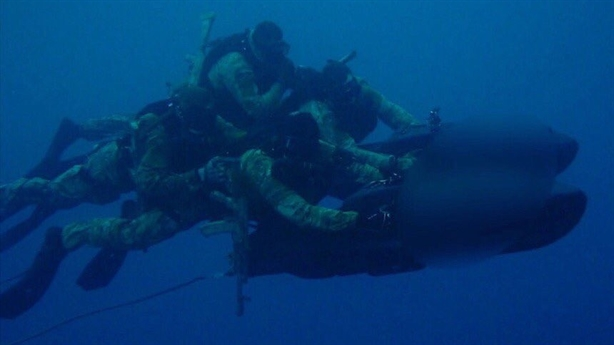 Đặc nhiệm Nga dùng tàu lặn Đức đổ bộ bờ biển Syria