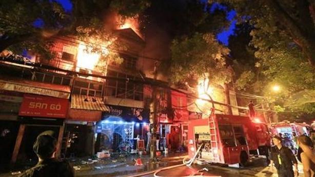 Khởi tố vụ cháy gần viện Nhi:Ông Hiệp liên quan thế nào?