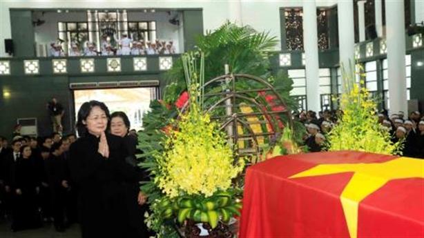 Trang trọng lễ viếng Chủ tịch nước Trần Đại Quang