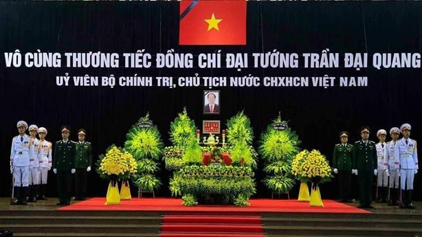 Bạn bè quốc tế đến viếng Chủ tịch nước Trần Đại Quang
