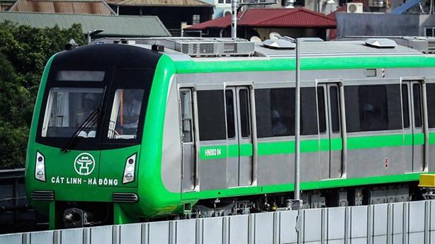 Giá vé tàu điện Cát Linh-Hà Đông cao hơn xe buýt
