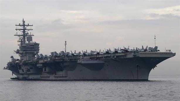 Biển Đông thêm nóng vì Mỹ tập trận bắn đạn thật