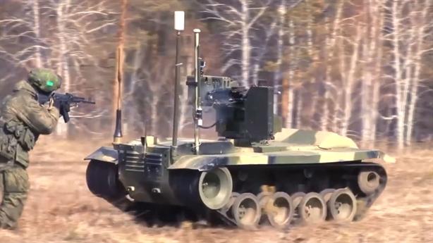 Nga thửa riêng robot chiến đấu cho Bắc Cực